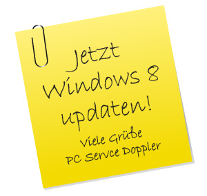 Support-Ende: Windows 8