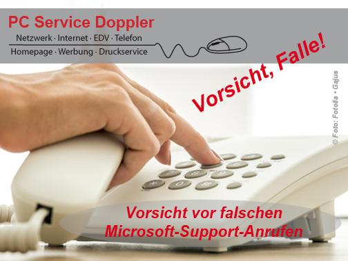 Anruf Microsoft Support